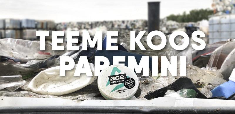 Plastiku ümbertöötlmine - ACE Veipland