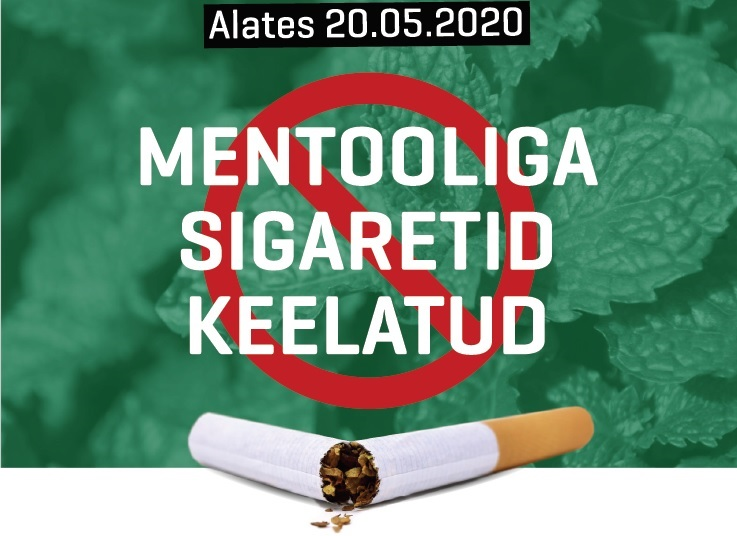 Mentooliga sigaretid keelatud