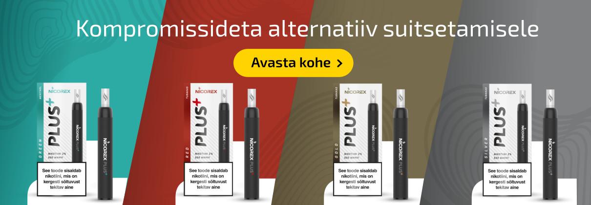 E-sigaret Nicorex Plus+
