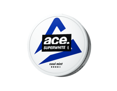 SNUS Nikotiinipadjad   ACE Superwhite  Cool Mint