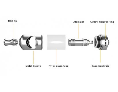 Aspire Nautilus 2 atomizer, 2ml