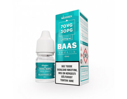 Baasvedelik / booster 20mg/ml nikotiiniga 70VG/30PG , 10ml