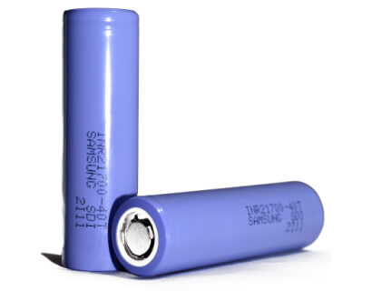 Samsung 4000 mAh 35A 21700 aku element