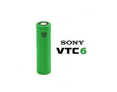 Batteri element Sony VTC6 3000 mAh 20A (max 30A) 18650