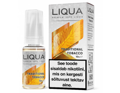 Liqua Elements Traditional Tobacco e-liquid
